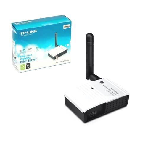 how to connect tp-link print server