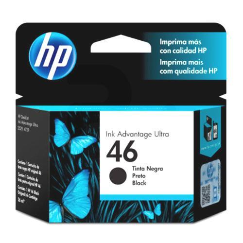 HP® Cartridge-Tintas Ultra Ink Advantage CZ637AL Negro 46