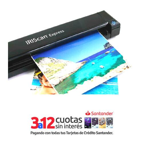 Escaner IRIScan Express 4