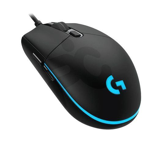 logitech mouse gamer g pro Óptico usb pc factory