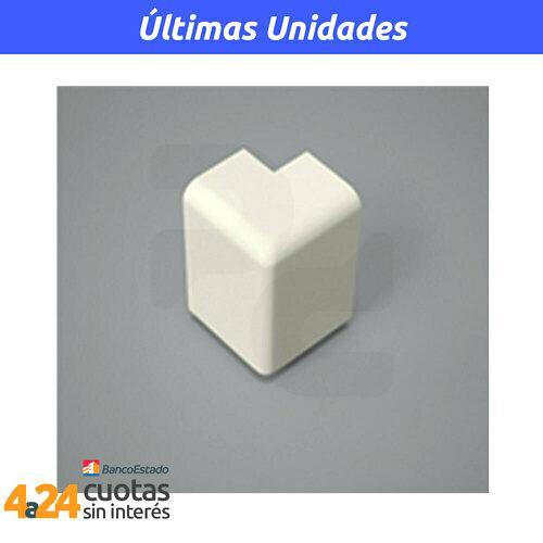 Angulo para esquinas Minicanal externo 20x10mm AE2012
