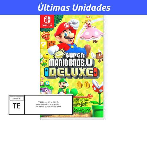 Super Mario Bros U Deluxe Nintendo Switch