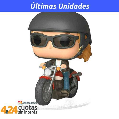 POP! Movies: Captain Marvel - Carol Danvers on motorcycle