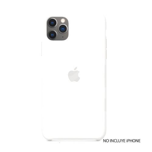 iPhone 11 Pro Max Silicone Case - White