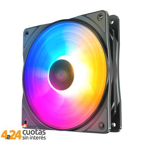 Ventilador 120mm - Three Led Colors RF120 FS