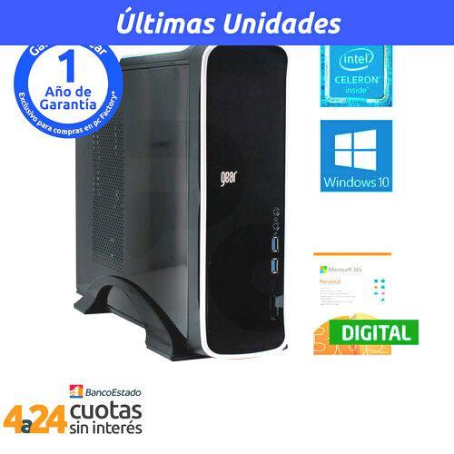 Desktop Intel Celeron J4005 4GB 1TB Windows 10