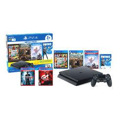 PLAYSTATION PS4 SLIM 1TB MEGA PACK 6 + GRAN TURISMO SPORT + UNCHARTED 4