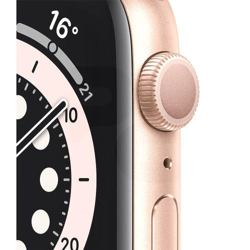 Apple Apple Watch Series 6 GPS, 44mm Gold Aluminium Case with Pink Sand  Sport Band | PC Factory