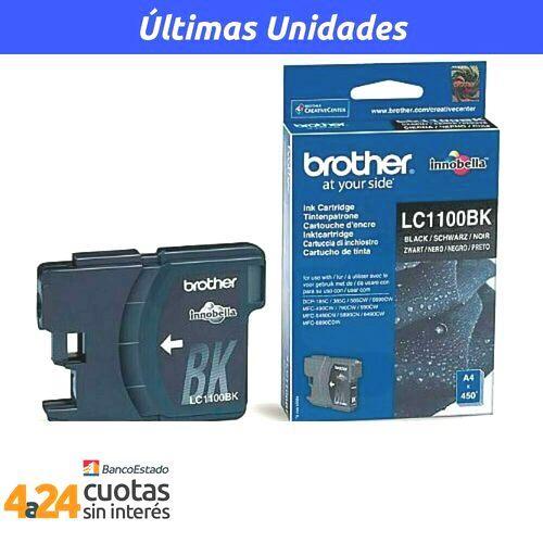 Tintas-Cartridge LC1100 Negro